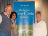 Sheena Singh at Crop Circle Conference