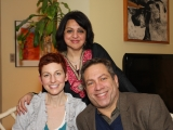 Danielle MacKinnon, Dr. David Kessler, Sheena Singh